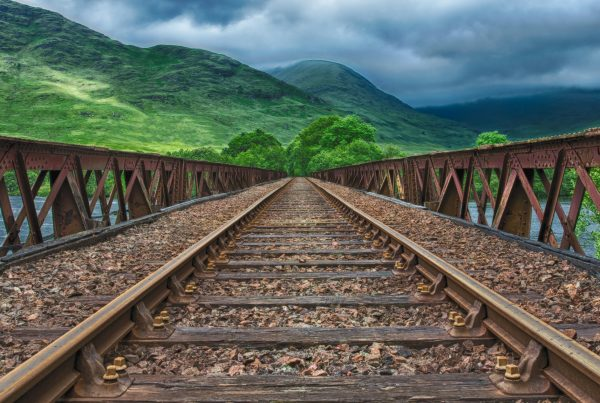 Rail can help save the planet
